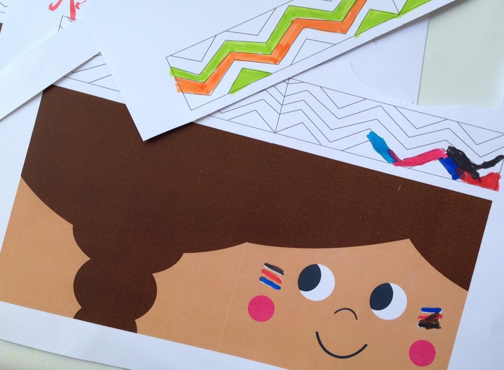 kindergeburtstag einladung indianer – ledeclairage, Einladung