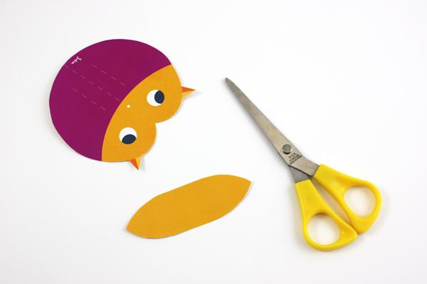 Bunte Vögel Basteln Mit Unserem Diy Bastelbogen Julica Design
