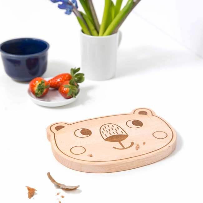 tipikids Frühstücksbrettchen Bär   Julica-Design