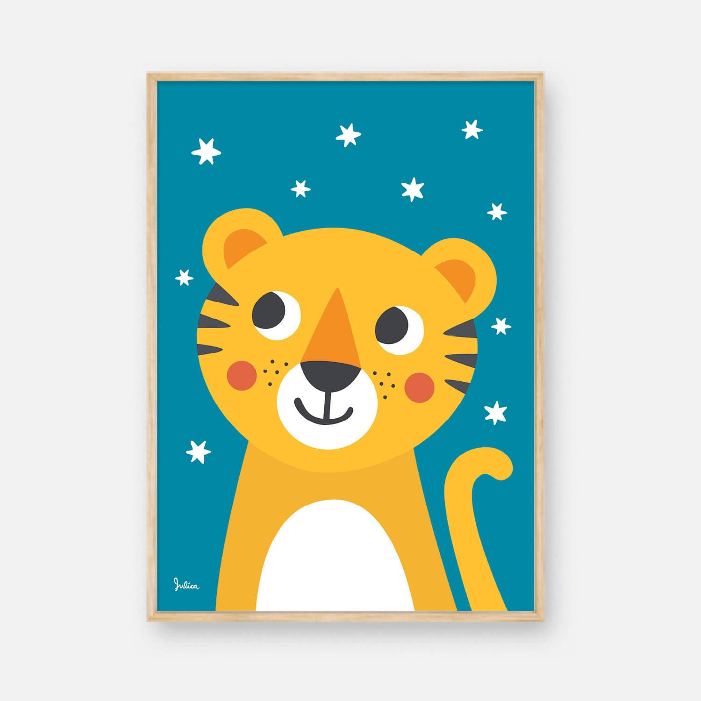 Nachtleuchtende Poster für dein Kinderzimmer   JulicaDesign