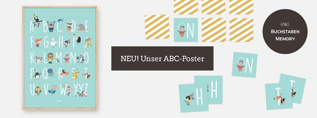 NEU: ABC-Poster von JulivaDesign