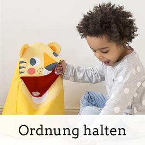 Aufräumhelfer für das unordentliche Kinderzimmer, spielerisch aufräumen, Ordnung halten im Kinderzimmer