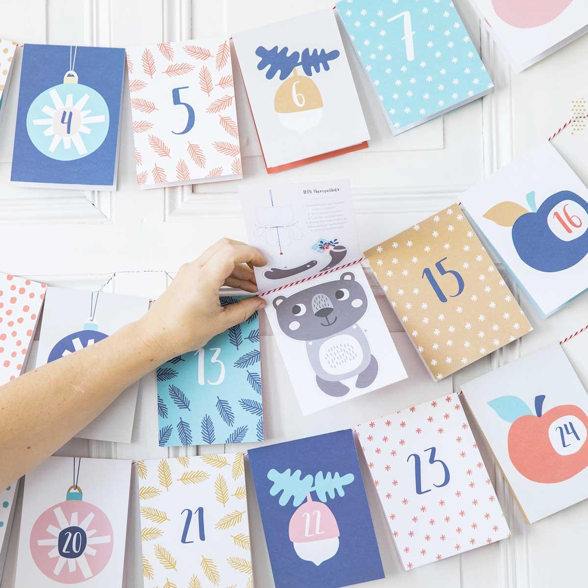 Ideen Für Adventskalender Baby.Baby Adventskalender
